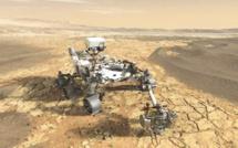 Mission sur Mars : De nouvelles images de Perseverance