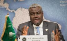 Faki Mahamat affirme le soutien de l'UA au nouveau gouvernement libyen