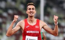 Tokyo 2020 / Athlétisme :  Première médaille d'or pour le Maroc grâce à Soufiane El Bakkali