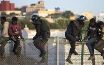 Plus de 400 migrants subsahariens ont tenté  d'entrer à Melilia
