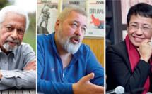 Prix Nobel de littérature et de la paix:  Les métiers de plume à l'honneur