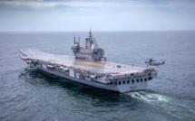Armement : Le 1er porte-avions indien poursuit ses essais en mer